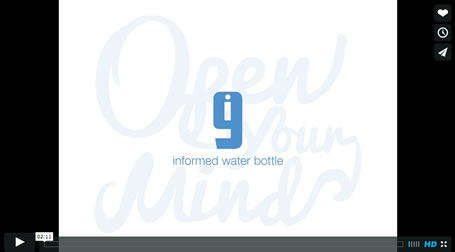 i9 Informed Water Bottle.